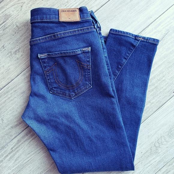 True Religion Nu Boy Slim Boyfriend Jeans